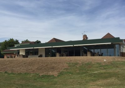 Weinor Semina Life awnings at Harpenden Golf Club